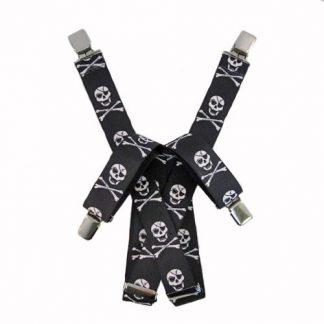 Skull Suspenders 9010-0