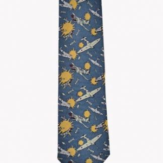 Fighter Planes Men's Tie 948-0