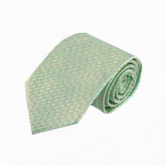 Mint Basket Weave Men's Tie 1009-0