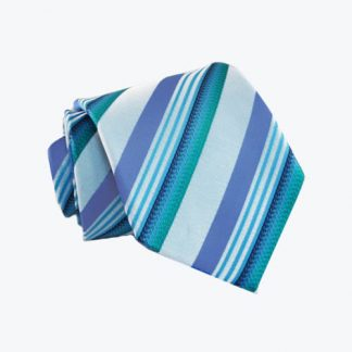 "Boy's 49"" Turquoise & Teal Stripe 10882-0"