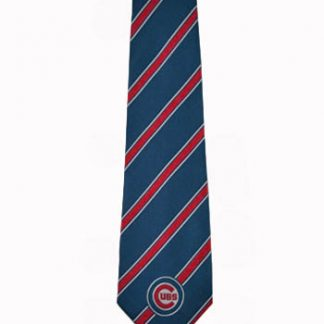 MLB Chicago Cubs Blue, Red Stripe Men's Tie 11330-0