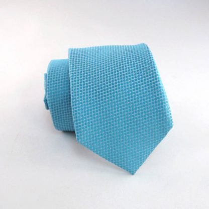 """49"""" Boy's Turquoise Solid Tone on Tone Tie 2951-0"""