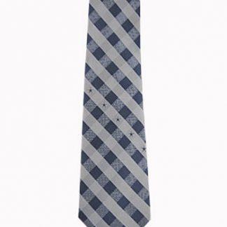 NFL Dallas Cowboys Checker Men's Tie 4366-0