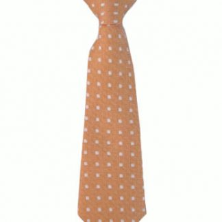 "8"" Boy's Clip Orange w/White Dots 9979-0"
