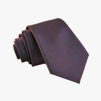 Eggplant Tone on Tone Skinny Men's Tie 10412-0