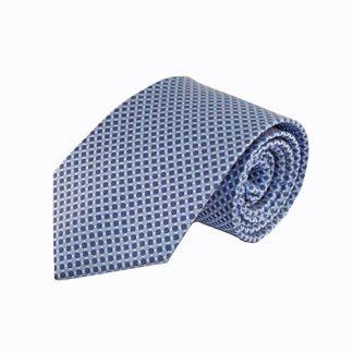 Light Blue, French Blue Small Dot Men's Tie 1503-0