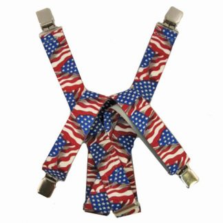 USA Flag Suspenders 2055-0