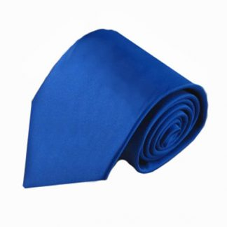 Royal Solid Men's Tie w/ Pocket Square 2727-0