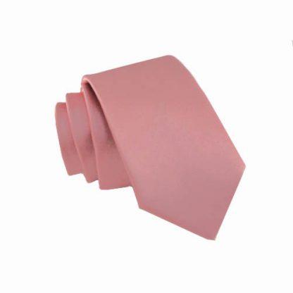 Mauve Solid Skinny Men's Tie 3812-0