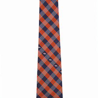 NFL Denver Broncos Checker Men's Tie 11395-0