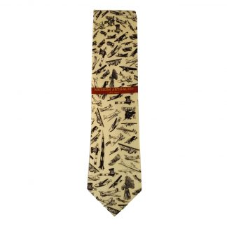 Aviation Classic Air Buses Men's Novelty Silk Tie 4669