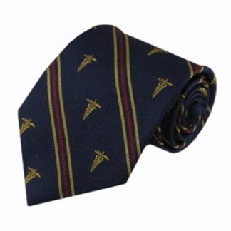 Medical Caduceus Stripe Men's Tie 5061-0