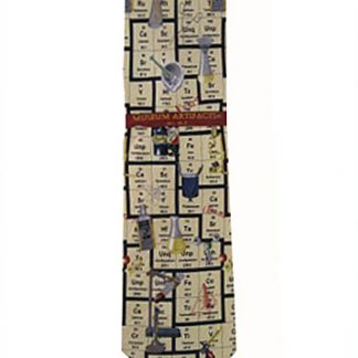 Periodic Table Silk Men's Tie 5068-0
