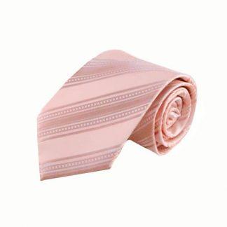 Pale Pink Tone on Tone Stripe Men's Tie 5153-0