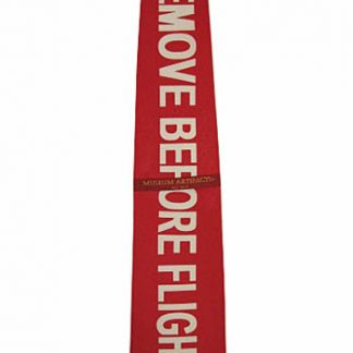 """Remove Before Flight"" Silk Men's Tie 7806-0"