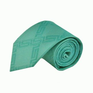 Seafoam Green Criss Cross Tone on Tone Men's Tie 10293-0