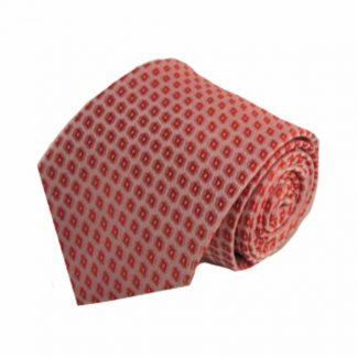 Medium Red Small Diamonds Men's Tie 5217-0