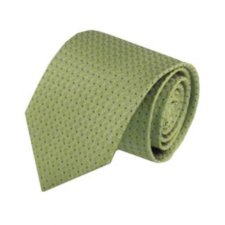 Green, Black Tone on Tone Small Dot Men's Tie 5351-0