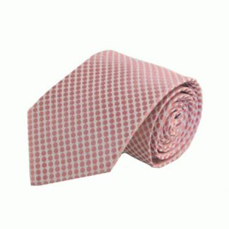 Light Pink Small Circles Men's Tie 7350-0