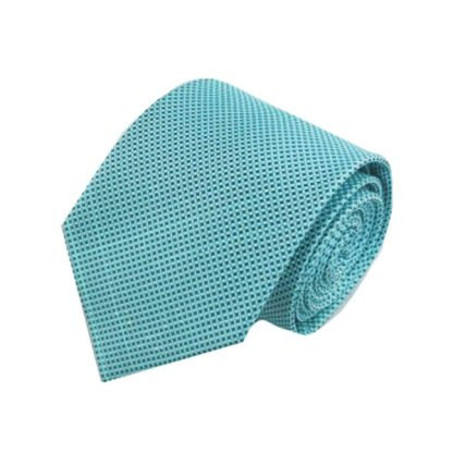 Tiffany Blue Small Criss Cross Pattern Tie 7830-0