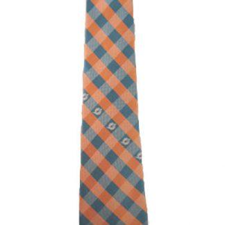 NFL Miami Dolphins Checkered Men's Tie 10065-0