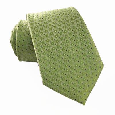 "49"" Green Tone on Tone w/ Black Dot Boy's Tie 10881-0"