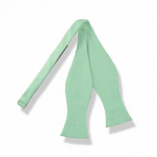 Mint Tone on Tone Self Tie Bow Tie 4666