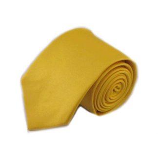 "63"" XL Bright Yellow Solid Men's Tie 8495-0"