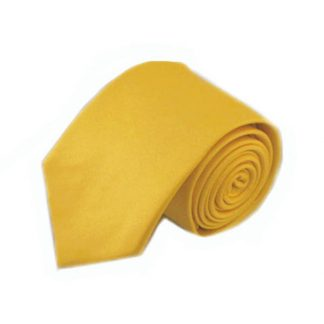 Bright Yellow Solid Men's Tie 8643-0