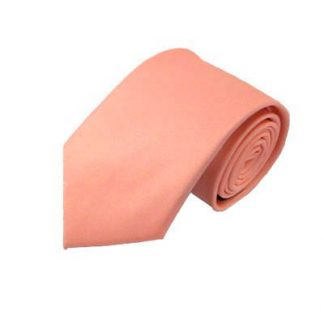 Bright Coral Men's Tie 9908-0