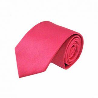 "63"" XL Fuchsia Solid Men's Tie 5819-0"