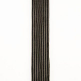 Black, Taupe Verticle Stripe Knit Men's Tie 5557-0