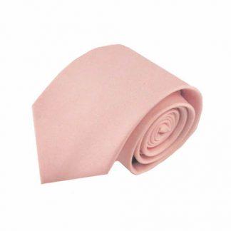 """63"""" XL Light Pink Solid Men's Tie 6283-0"""