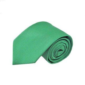 """63"""" XL Emerald Green Solid Men's Tie 6284-0"""