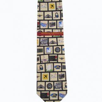 Pilot Tools of Trade Silk Men's Tie 4438-0