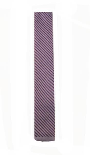 Lavender Stripe Knit Men's Tie 8033-0