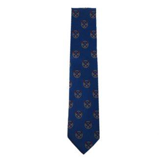 Blue Lacrosse Men's Tie 11045