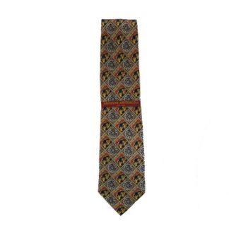 St. George Slays the Dragon Men's Silk Tie 3346