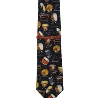Retro Percussion Men's Silk Tie 5926