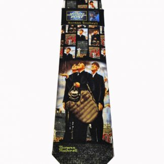 Bottom of 6th by Norman Rockwell Silk Men's Tie 6637-0
