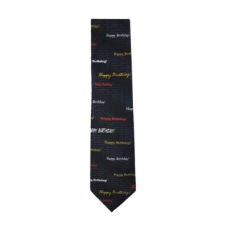 Happy Birthday Men's Tie 8943