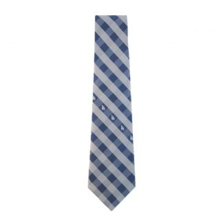 MLB LA Dodgers Blue & Silver Checker Men's Tie 9769