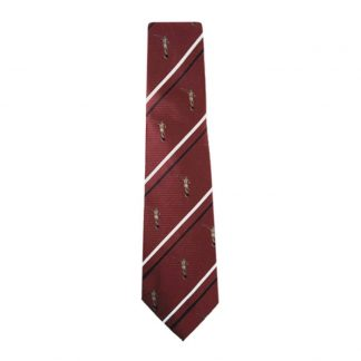 Angel Moroni Statue Cambridge Red Men's Tie 9933