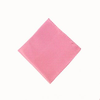Pink T/T Small Squares Pocket Square 11167-0