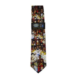 Golden Rule by Norman Rockwell Men's Silk Tie 1741