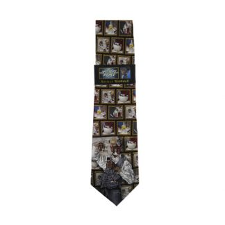Norman Rockwell Pharmacy Men's Silk Tie 5060