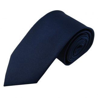 "63"" XL Solid Navy Men's Tie 6291"