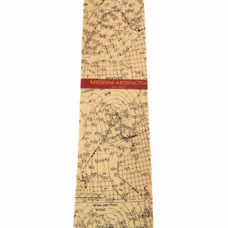 Weather Chart Map Silk Men's Tie 5144-0