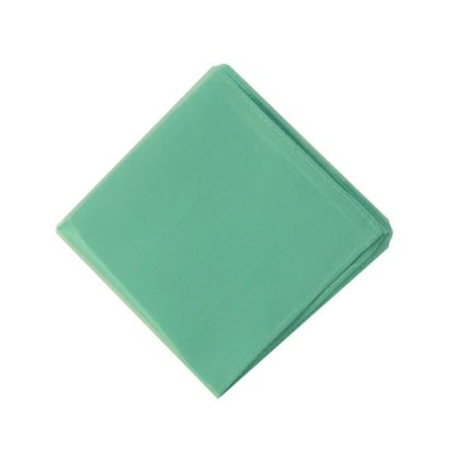 Tiffany Blue Solid Pocket Square 7629-0