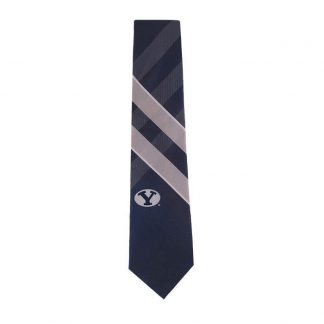 BYU Blue & Gray Grid Tie